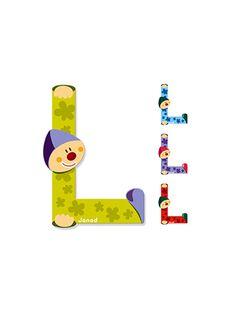 Lettre clown L LETTRE L / 99P8CH064MUR999