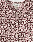 Chemisier fille raisin en imprimé Liberty fleurs  BELONA 20 / 20IU1982N09711