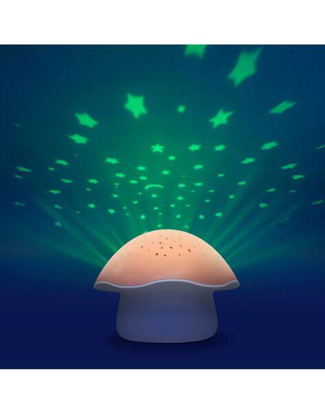Projecteur etoiles champignon rose PROJ CHAMP ROSE / 21PCDC001LUM030