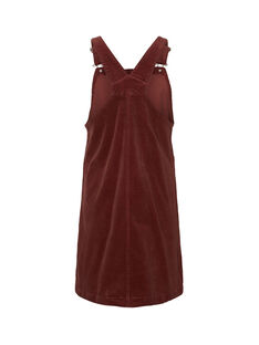Robe de grossesse chasuble Mamalicious bordeaux MLNASSAU ROBE / 19IW2664N18503
