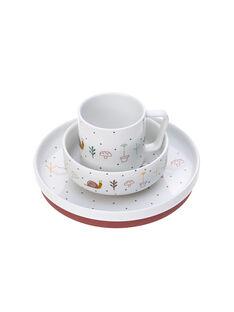 Coffret repas porcelaine rose garden COF REPAS ROSE / 20PRR2014VAI030
