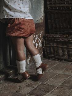 Bloomer en velours côtelé vieux rose bébé fille DENISE 21 / 21IU1912N25303
