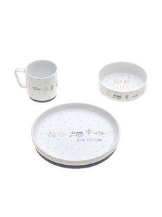 Coffret repas porcelaine bleu garden COF REPAS BLEU / 20PRR2015VAIC218