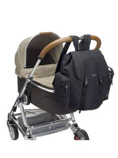 Sac à langer sac à dos Storksak noir 38x34x27 cm BACKPACK BLACK / 19PBDP011SCC090