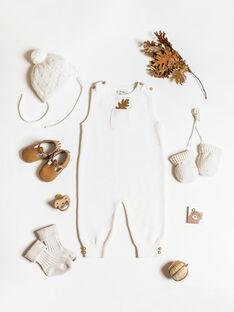 Chaussettes mixte vanille en tricot  AUNI 20 / 20PV7019N47114