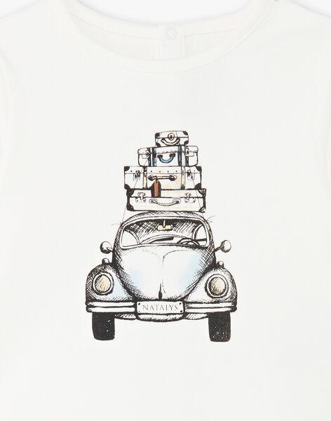 Tee Shirt Manches Longues Vanille CALEB 21 / 21VU2011N0F114