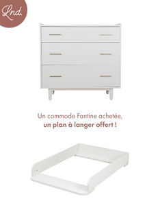 Commode fantine blanche COM FANT BLA / 20PCMB003COM000