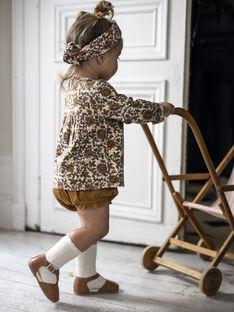 Bloomer camel bébé fille DOLORES 21 / 21IU1911N25804