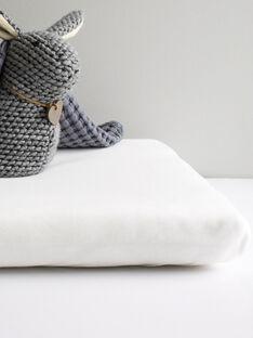 Drap housse coton bio Kadolis blanc 40x80 cm DRA HOU BLAN 40 / 19PCTE014DRA000