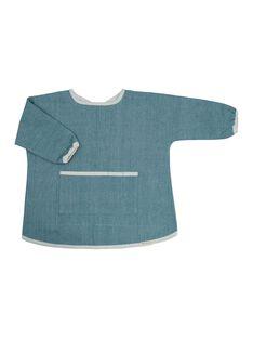 Tablier blouse chambray bleu 1-3 ans TABLIE BLEU 1 3 / 21PRR2003BVRC218