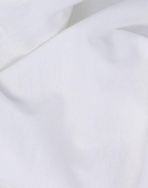 Drap housse blanc Bambou 40x80 cm 0-6 mois DRA HOUS BLA BA / 11PCTE001TRB000