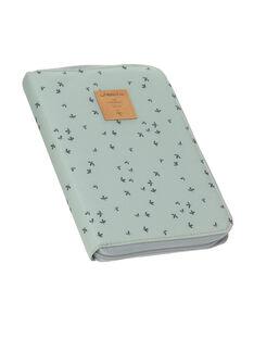Pochette de rangement protège carnet de santé fleurs Lässig menthe 22,5x16,5x2,5 cm PROT CARNET MEN / 19PSSO013AHY999