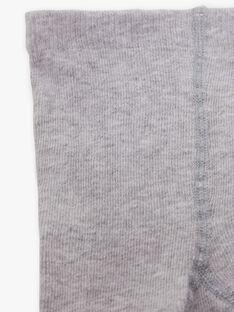 Collant gris chiné en maille fantaisie BELMA 20 / 20IU6051N46J920