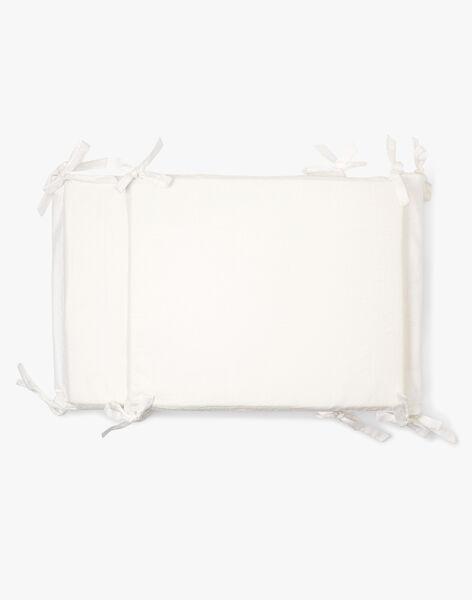 Tour de lit à motif jacquard fantaisie vanille mixte  AVENTIN-EL / PTXQ6412N74114