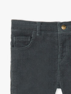 Pantalon chino gris garçon BONIFACE 20 / 20IU2081N03631