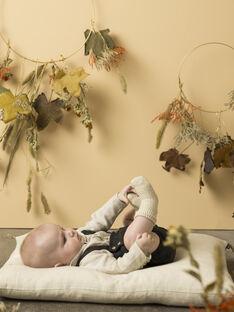 Bloomer à bretelles noir et vert naissance garçon VAVIN 19 / 19IV2311N25608