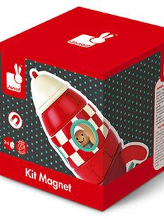 Maquette fusée aimantée à monter FUSEE KIT MAGNE / 12PJJO010JBO999