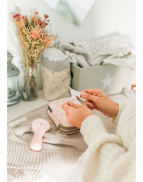 Trousse de toilette  hygge rose TROUS TOIL ROSE / 21PSSO005AHY030