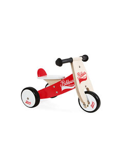 Tricycle Bikloon rouge PORTEUR BIKLOON / 14PJJO005JBO999