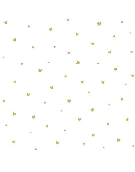 Papier peint intisse coeur ocre PAPI COEUR OCRE / 21PCDC009DMU999