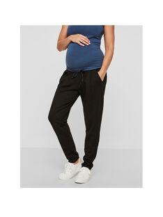 Pantalon de grossesse noir MLLIF MLLIF / 17PW26X1N03090