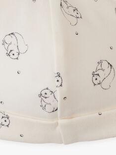 Bonnet naissance mixte imprimé en coton pima AMIROU 20 / 20PV7011N63114
