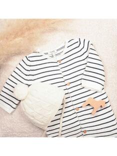 Bonnet de Naissance vanille BAMANCE 20 / 20IV6851N49114