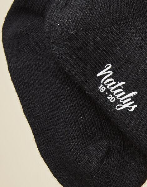 Chaussettes noires bébé garçon  VISETTE 19 / 19IU6113N47090