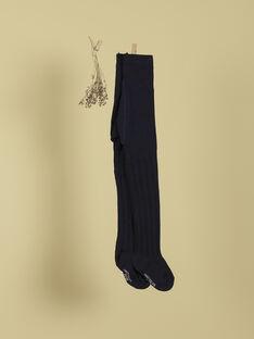 Collants indigo fille TIOLIVIA 19 / 19VU6022N46703