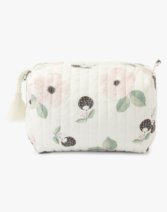 Trousse de toilette imprimé fleurs fille   ALAE-EL / PTXQ6211TTO114