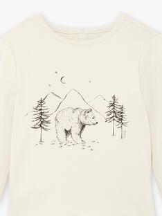 Tee-shirt motif ours coton biologique DIXON 468 21 / 21I129211N0F009