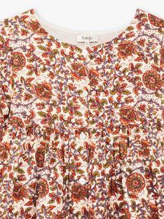 Robe imprimé block print DEBORA 468 21 / 21I129115N18003