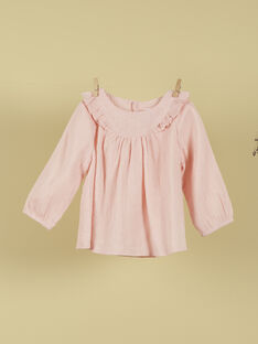 Blouse rose blush fille TISILLA 19 / 19VU1923N09D300