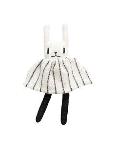 Peluche lapin noir et blanc LAPIN NB / 18PJPE014PPE999
