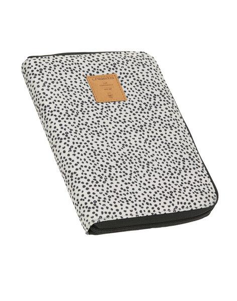 Pochette de rangement protège carnet de santé Lässig grise 22,5x16,5x2,5 cm PROT CARNET OFF / 19PSSO014AHY999