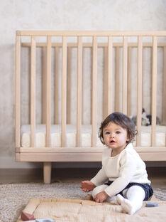 Lit bébé évolutif fantine bois 70x140cm LIT FANT BO / 20PCMB011LBBI818