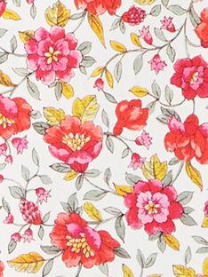 Maillot de bain fille imprimé floral blanc  APALOMA 20 / 20VU1911N1A000