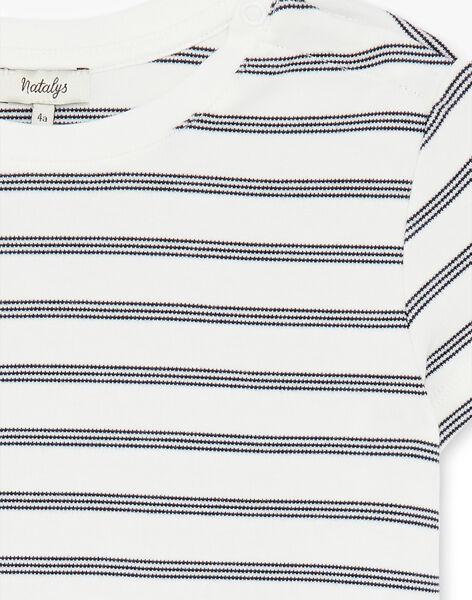 Tee Shirt Manches Courtes Vanille CARL 468 21 / 21V129212N0E114