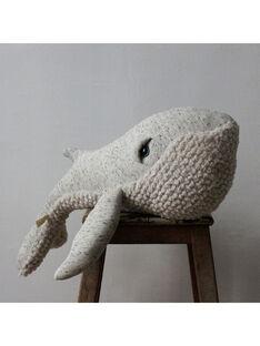 Peluche Baleine Originale 83 cm BigStuffed grise dès la naissance BALEINE ORIG 83 / 19PJPE011GPE999