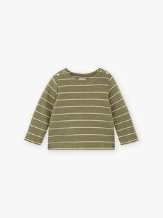 Tee-shirt rayé coton pima DIEGO 21 / 21IU2013N0FG614