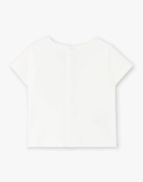 Tee Shirt Manches Courtes Vanille CLARANCE 21 / 21VV2311N0E114