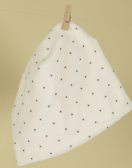 Bonnet de naissance à pois TARTARE 19 / 19PV7022N63114