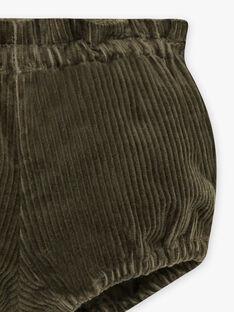 Bloomer vert en coton biologique naissance fille DELPHY 21 / 21IV2211N25600