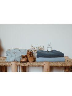 Couverture bou bleu hiver 75x100cm COUV BOU BLEUHI / 21PCTE003DELC236