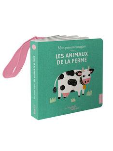 """Livre imagier """"Les Animaux de la ferme"""" Auzou 11x11x1,9 cm dès 1 mois ANIMAUX FERME / 19PJME007LIB999"""