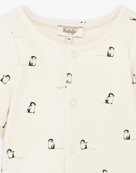 Body imprimé pingouins coton pima DOBY 21 / 21IV2311N69009