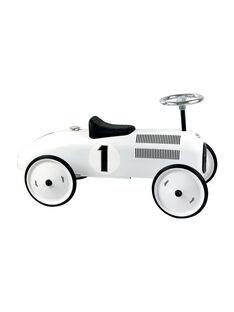 Porteur voiture vintage blanc PORTEUR BLANC / 20PJJO002GJO000