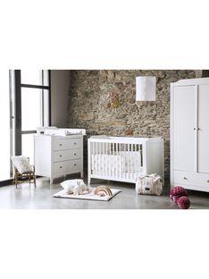 Lit bebe opera blanc 60x120cm LI OPE BL 60X12 / 21PCMB005LBB000