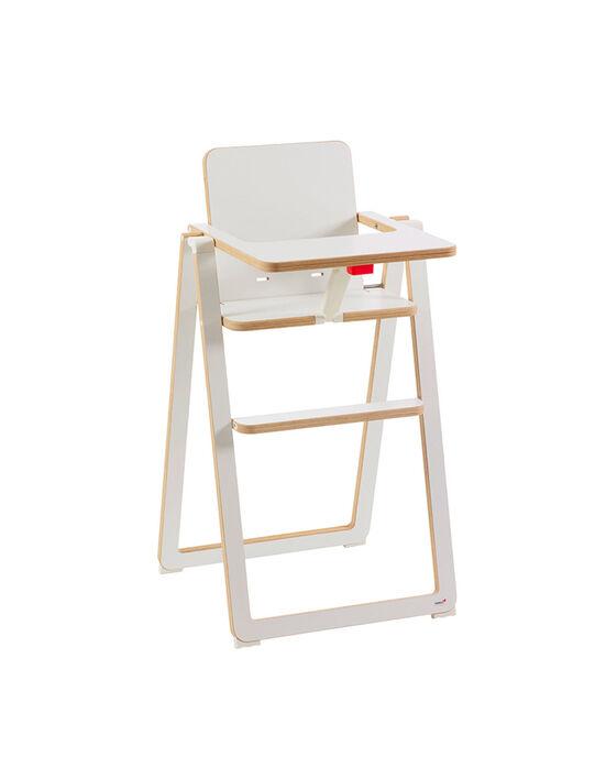 Chaise haute Supaflat blanche CHH SUPAFLAT BL / 13PRR2006CHH000