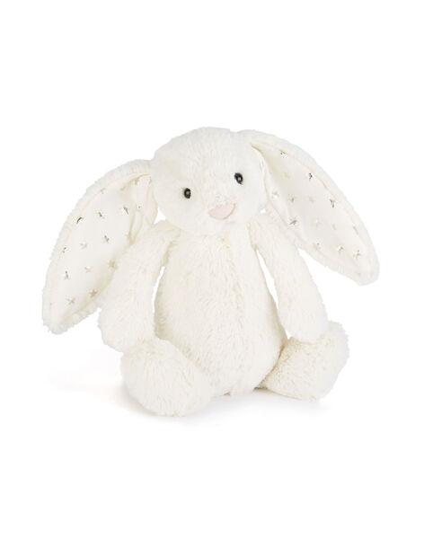 Peluche lapin Bashful étoiles Jellycat blanc 31x10x12 cm dès la naissance LAPIN ETOILE 31 / 19PJPE005MPE000